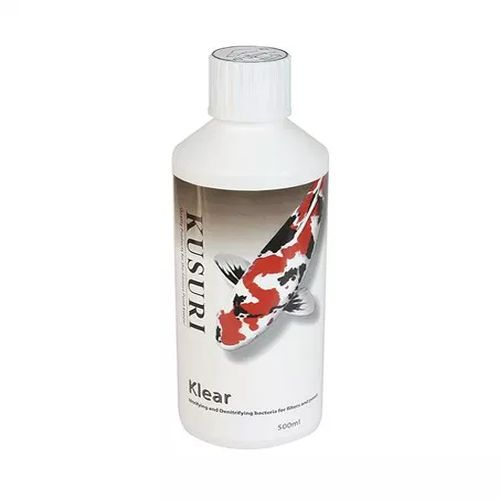 kusuri klear 500ml pond water treatment