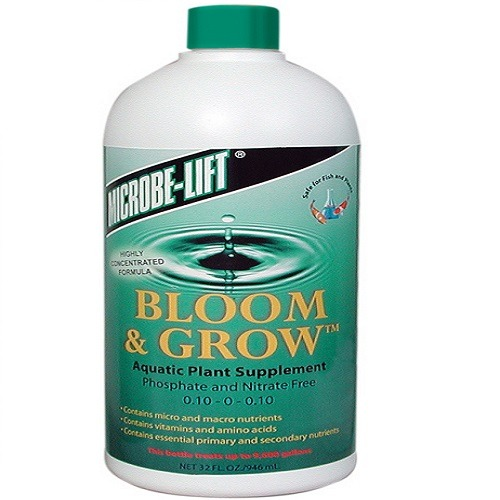 microbe lift bloom and grow aquatic plant food