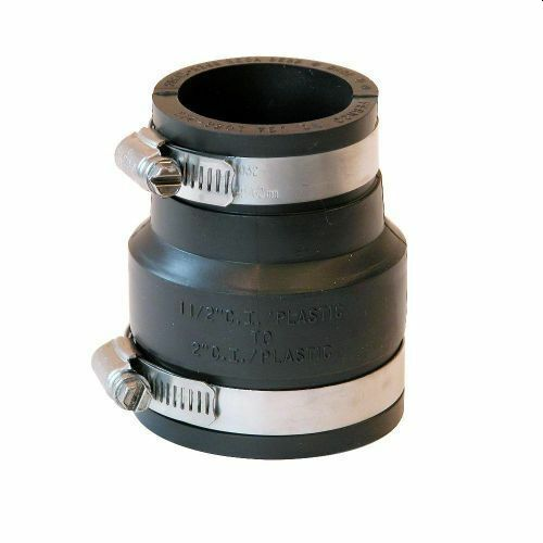 """2"""" x 1.5"""" Rubber Pipe Reducer"""