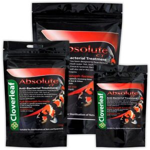 Cloverleaf ABSOLUTE CT anti bacterial treatment